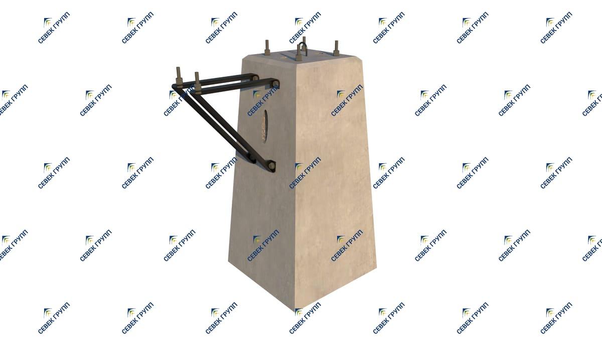 15379-00-00 СБ (фундамент усиленный для светофоров)