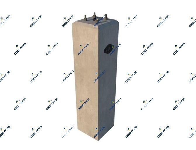 У-12811-00-00А СБ (фундамент маневровой колонки)