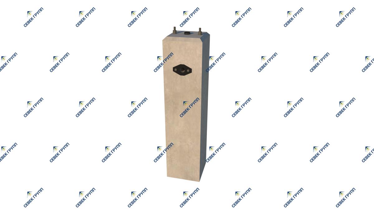 У-11786-00-00 СБ (фундамент тип I для карликового светофора)