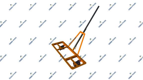 Однорельсовая тележка ТО-1 (типа Модерон)
