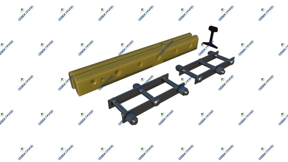 Изолирующий стык Р-50 ЦП481/ЦП480
