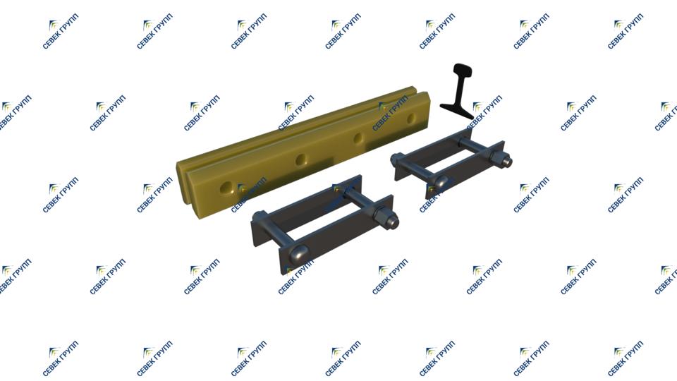 Изолирующий стык Р-65 ЦП450/ЦП478